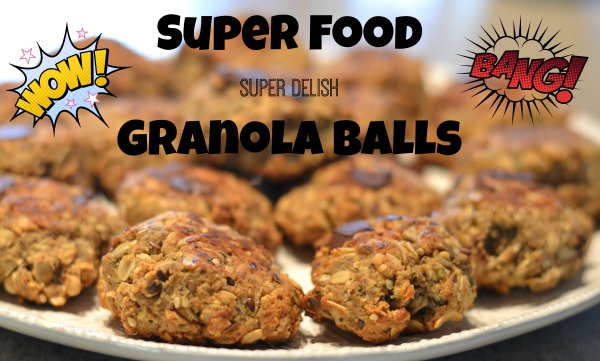 superfood granola ball
